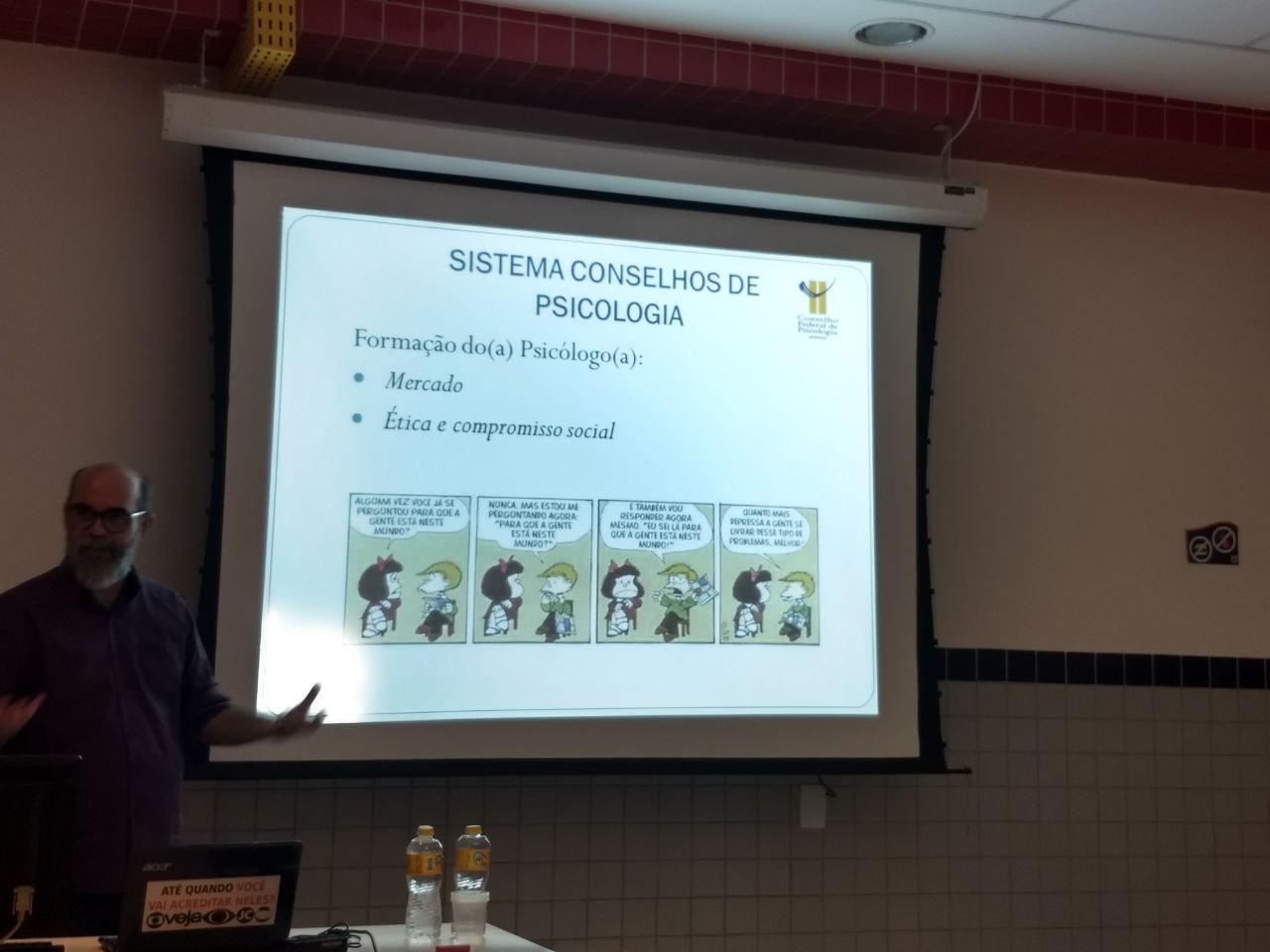 Curso de Psicologia realiza palestra com Conselho Federal de Psicologia - Universo Recife 1