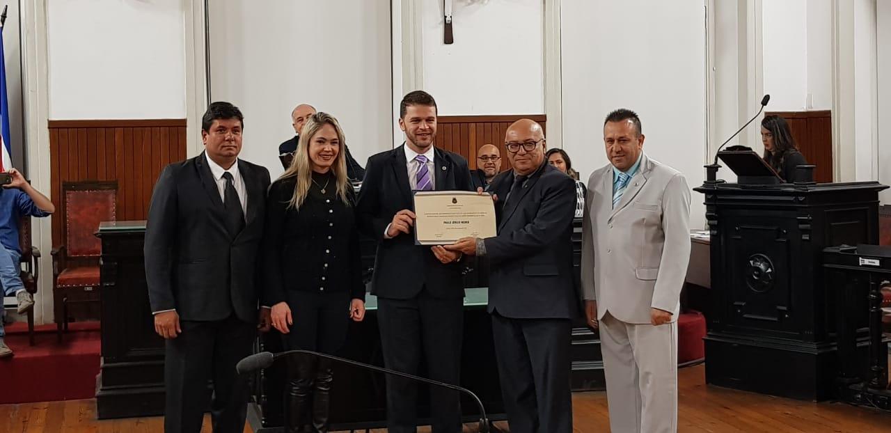 Diretor Geral da UNIVERSO/Juiz de Fora é homenageado pela Câmara Municipal 1