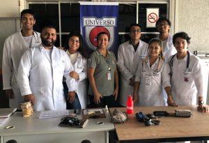 Enfermagem da Universo-Campos na Sipat do Porto do Açu