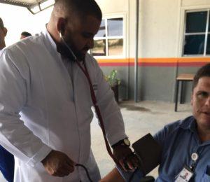 Enfermagem da Universo-Campos na Sipat do Porto do Açu 4