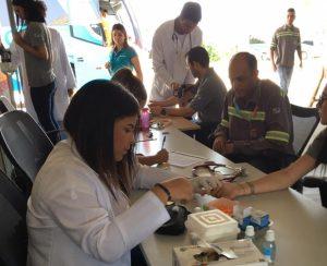 Enfermagem da Universo-Campos na Sipat do Porto do Açu 5